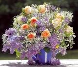 Calendar de perete Bouquets 2015 - Luna Aprilie