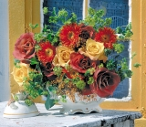 Calendar de perete Bouquets 2015 - Luna Februarie