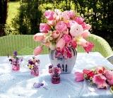 Calendar de perete Bouquets 2015 - Luna Martie