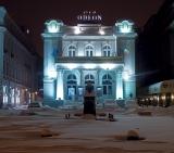 Calendar de perete Bucharest at night 2015 - luna Ianuarie