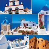 Calendar de perete Destinatii - luna August
