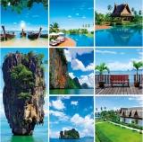 Calendar de perete Destinatii - luna Iunie