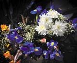 Calendar de perete Flowers 2014 - Luna Noiembrie