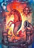 calendar de perete zodiac 2015-luna ianuarie