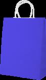 Punga cadou personalizata albastra