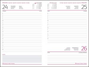 Interior Agenda IT205 hartie alba datata zilnic