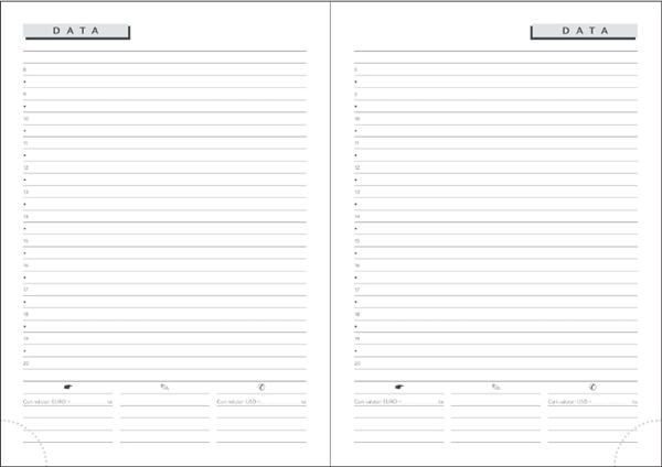 Interior Agenda R439 hartie alba nedatata