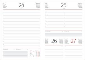Interior agenda datata zilnic hartie alba 14.5 x 20.5 interior-agenda-460-ivoriu-14.5x20.5-datata-zilnic