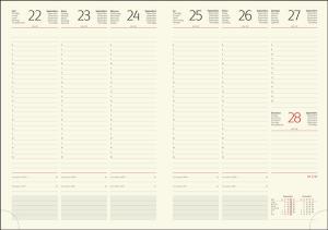Interior Agenda R467 hartie ivorie datat saptamanal