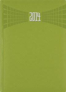 Agenda Economica Matra verde mela 15x21 datata zilnic