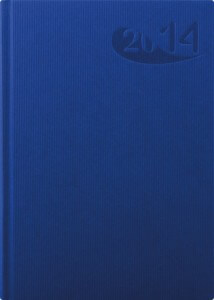Agenda Economica Papier albastru 15x21 datata zilnic hartie ivory