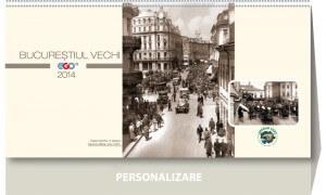 Calendar de birou Bucuresti 2014 - coperta