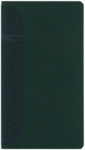 Agenda de buzunar Kent verde 8x15 cm datata saptamanal