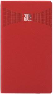 Agenda de buzunar Matra rosie 8x15 cm datata saptamanal