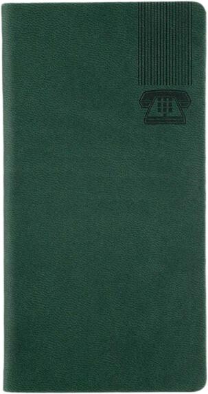 Agenda Telefonica Kent Verde interior etichetat de la A la Z
