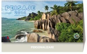 Calendar de birou Peisaje 2014 - coperta