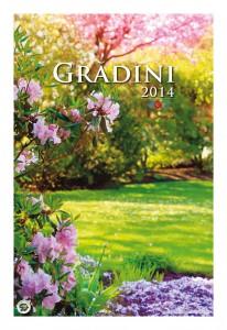 Calendar de perete Gradini 2014 - coperta