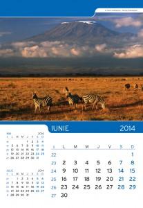Calendar de perete Peisaje 2014 - fila interior