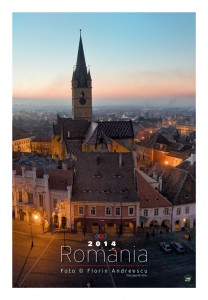 Calendar de perete Romania 2014 - coperta