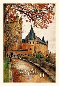 Calendar de perete Royal 2014 - coperta