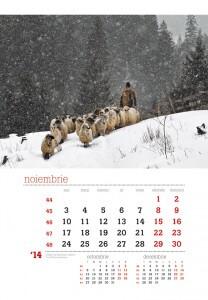 Calendar de perete Rural 2014 - fila interior