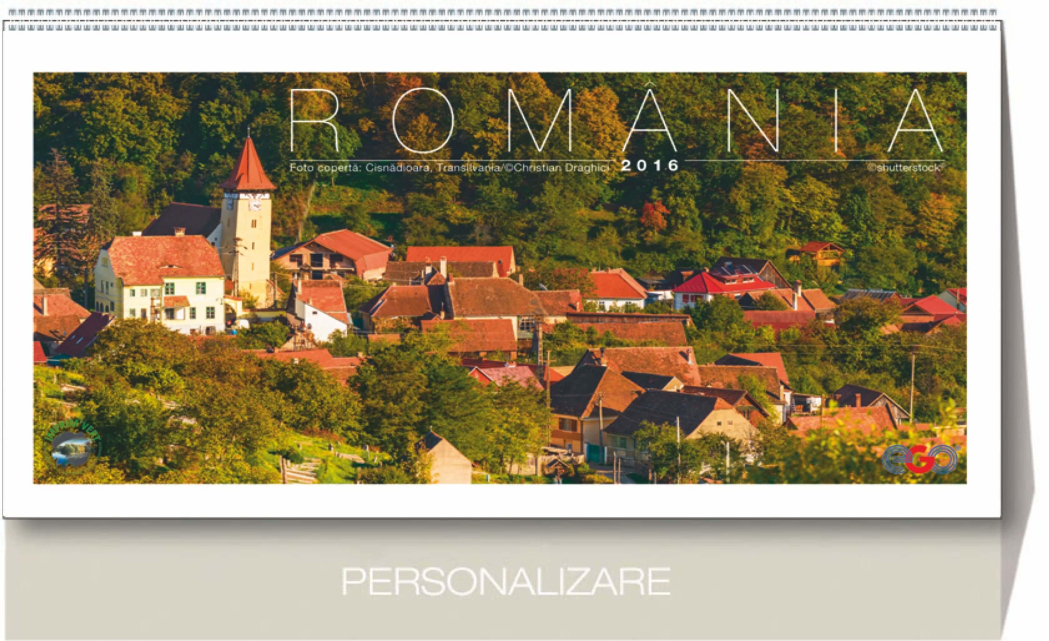 coperta calendar de birou romania