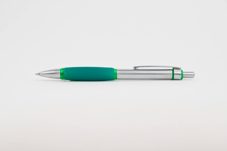 Pix Metalic Senior argitiu cu grip verde - personalizare prin tampografie