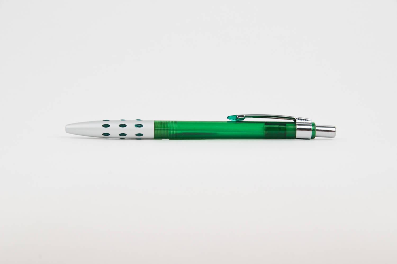 Pix din Plastic Royal Verde - personalizare prin tampografie