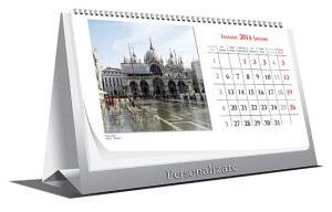Interior Calendar de birou Europe datat 2014 personalizabil