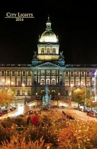 Calendar de perete City Lights 2014 - Coperta
