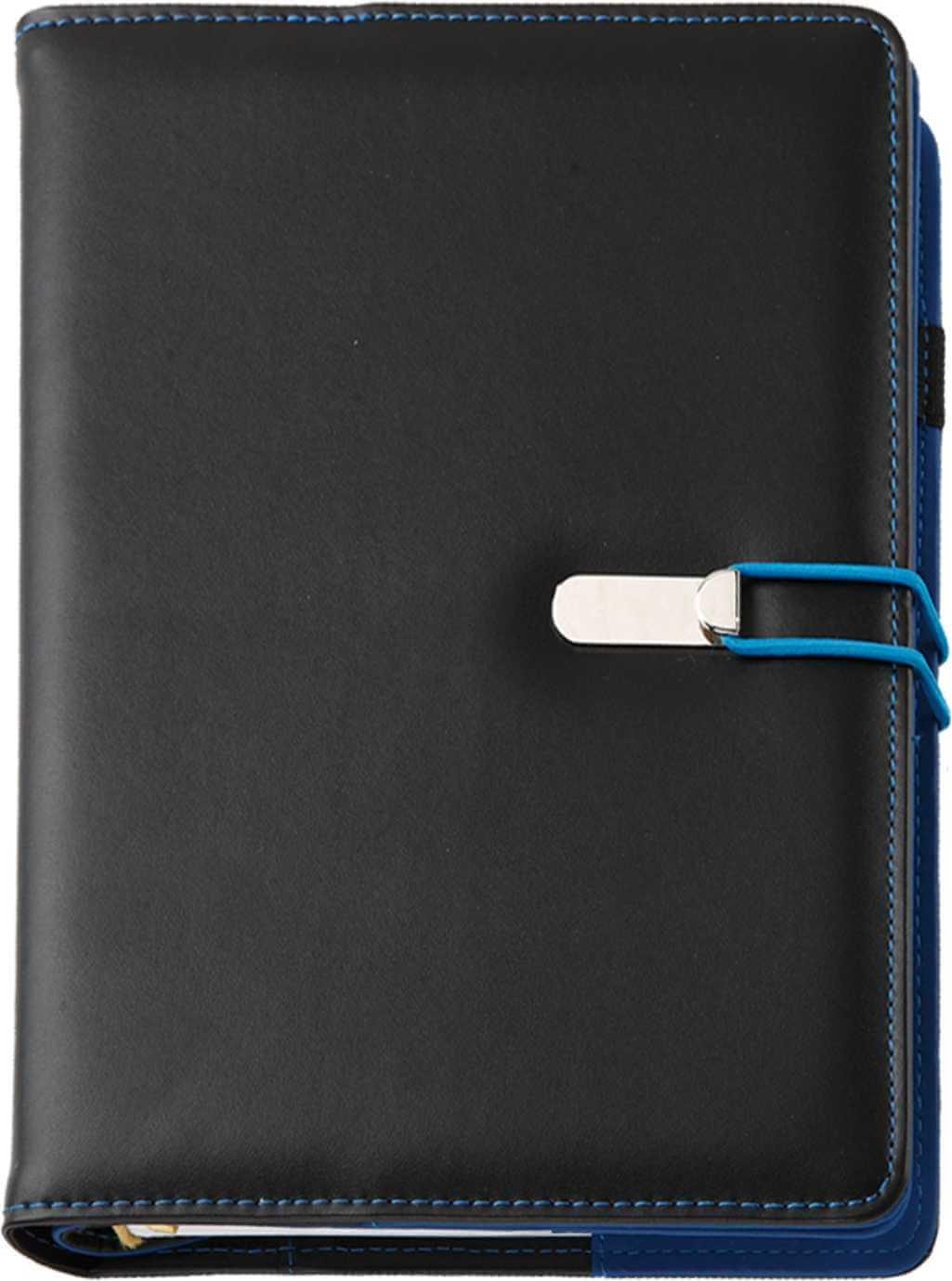 Agenda Lux Clio Negru-Albastru
