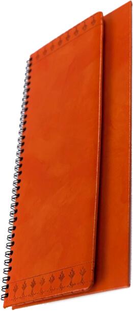 planner decor portocaliu