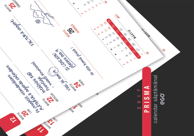 calendar prisma
